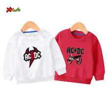 cool kids sweatshirts boys 2019  ACDC Baby Girls Sweatshirts Autumn Children Long Sleeves Kids Clothes toddler sweatshirt 2T 7T