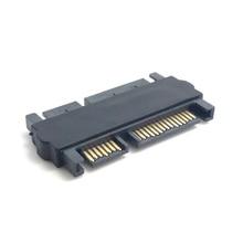 OULLX SATA мужчин адаптер конвертер 22Pin SATA с 7-штыревой+15-контактный женский кабель данных