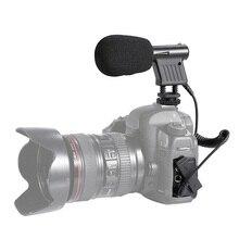 Мини-интервью с микрофоном вещания направленного конденсатора для DSLR видеокамера записи ING-SHIPPING