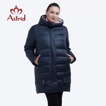 Winter Jacket Women down jacket Plus Size female Hooded warm Coat 11XL parka 3 color soft office lady solid pocket Frisky FR1825 - discount item  65% OFF Coats & Jackets