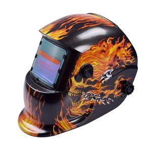 Image 3 - 8 Styles Welding Helmet Auto Darkening Darkening Welding Multifunction Protective Welding Mask UV Protection Lens Tig Helmets