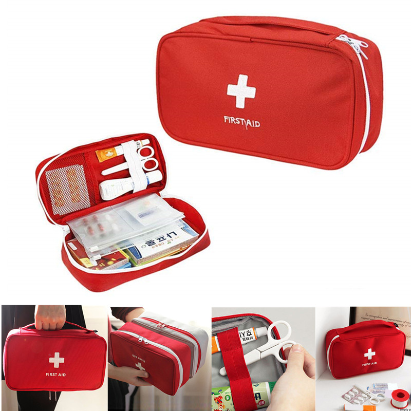 New First Aid Kit Medical Outdoor Camping Survival Emergency Kits Bag Professional Urgently MINI First Aid Kit Travel Portable
