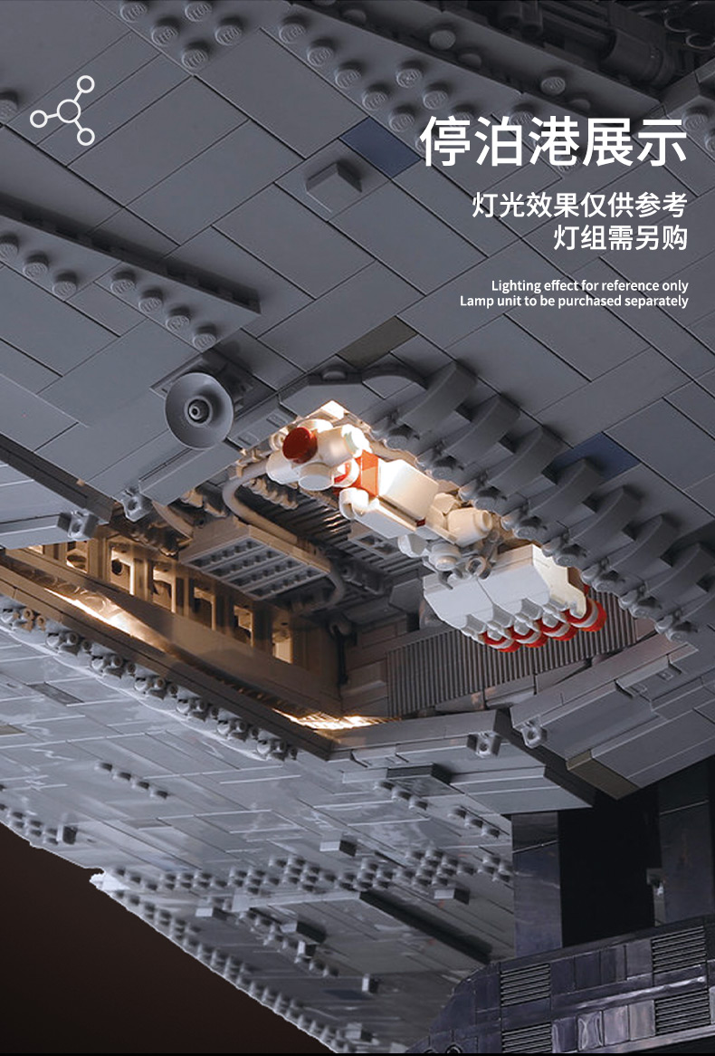 05027 Star Toys Wars The MOC-23556 Imperial Star Destroyer Compatible With Legoing 75252 Kids Christmas Gifts Building Blocks 19