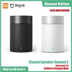 2020 Original Xiaomi Mi Bluetooth 5.0 Speaker Cannon 2 steel Gun2 Hands free Calls Music Player with Mic bookshelf For Phones