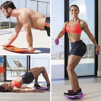 Fitness Balance Board Waist Twisting Boards Yoga Gym Prancha Abdominal Leg BalanceTraining Exercise Workout Equipment 4