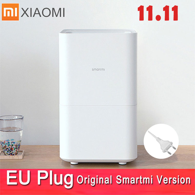 Smartmi 2 Air Humidifier Non-mist Mist-free Pure Evaporate Type Air Humidity Xiaomi 2 Mute Humidifier Mijia Mi Home App Control