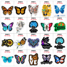 Hair-Bows Butterfly Planar Resins Home-Decoration-Accessories for 30pcs/Lot R04809/R0481/R0482