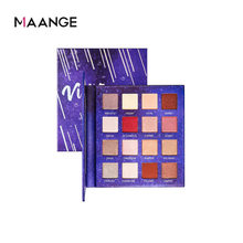 MAANGE16 color eyeshadow palette matte pearlescent earth color student eye makeup ball colorful eyeshadow palette
