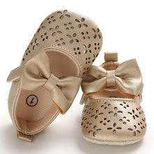 Newborn Baby Toddler Girl Crib Shoes Pram Soft Sole Prewalker Anti-slip Sneakers Summer Sandal Bowknot Sandals