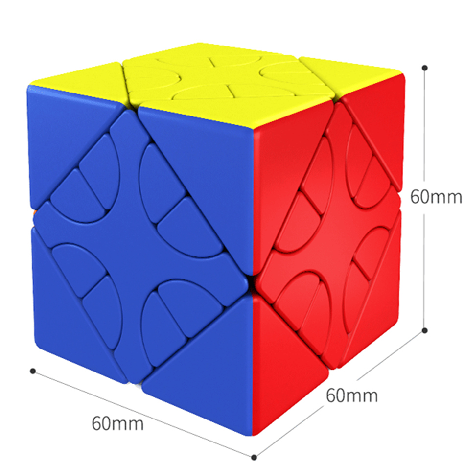 MOYU HunYuan Oblique Turning Cube—1 2 3 2020 New Magic Speed Cube Professional Puzzle Toys For Children Kids Cubo Magico Gift 9