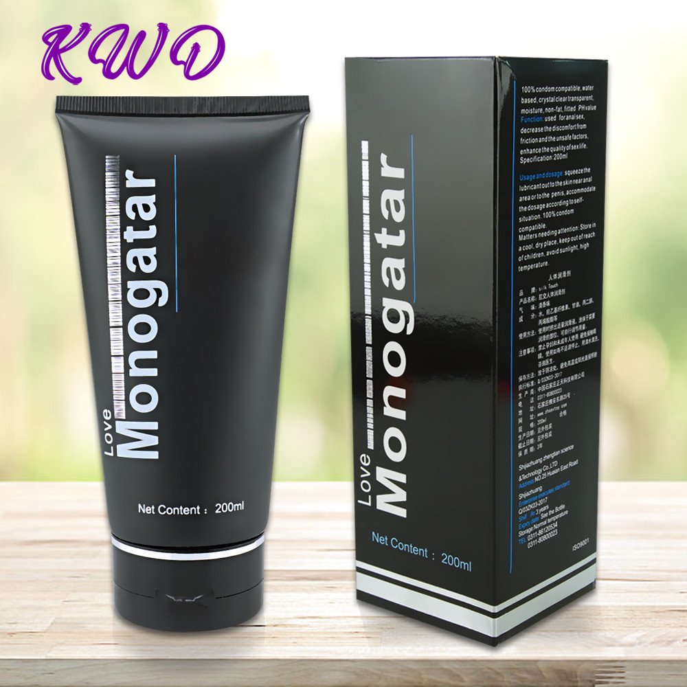 200ML Water-based Lubricant Anal Gel Adult Sex Oil Lubricant For Sex Vaginal And Anal Gel Sex Lubricant Toys For Adults