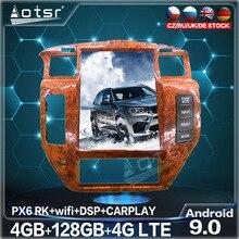 Автомобильный мультимедийный плеер 128G, Android 9,0, сенсорный экран в стиле Тесла, радио, GPS-навигация для NISSAN патруль 5 Y61, экран