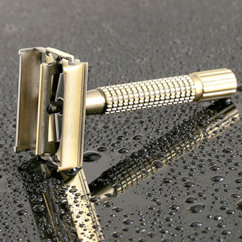 Manual Safety Razor With Shaving Blades Classic Mens For Men Removal Barber Hair Shaving Shaving Beard Tools Razor Shaver P2B1
