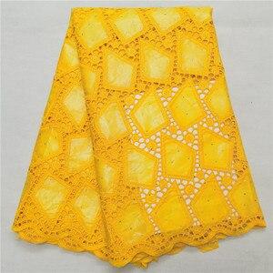Africano bazin riche 2020 nova chegada amarelo bazin riche tecido com pedras brode bazin para vestido de casamento H66-903
