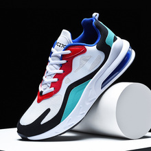 Top Comfort Space leather Sneakers Men Casual Shoes For Adult Hot New Autumn Air Cushion Running Shoes Male Footwear Non Slip hot sale women shoes female casual footwear casual shoes top quality air cushion comfort shoes light soft platform woman shoes