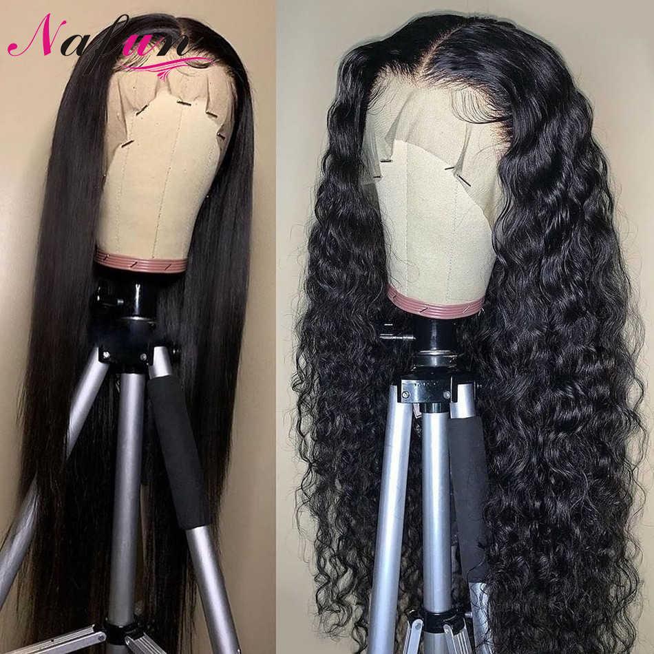 Glueless perucas completas do laço perucas brasileiras do cabelo para as perucas retas do cabelo humano perucas transparentes do laço remy do cabelo 150% densidade