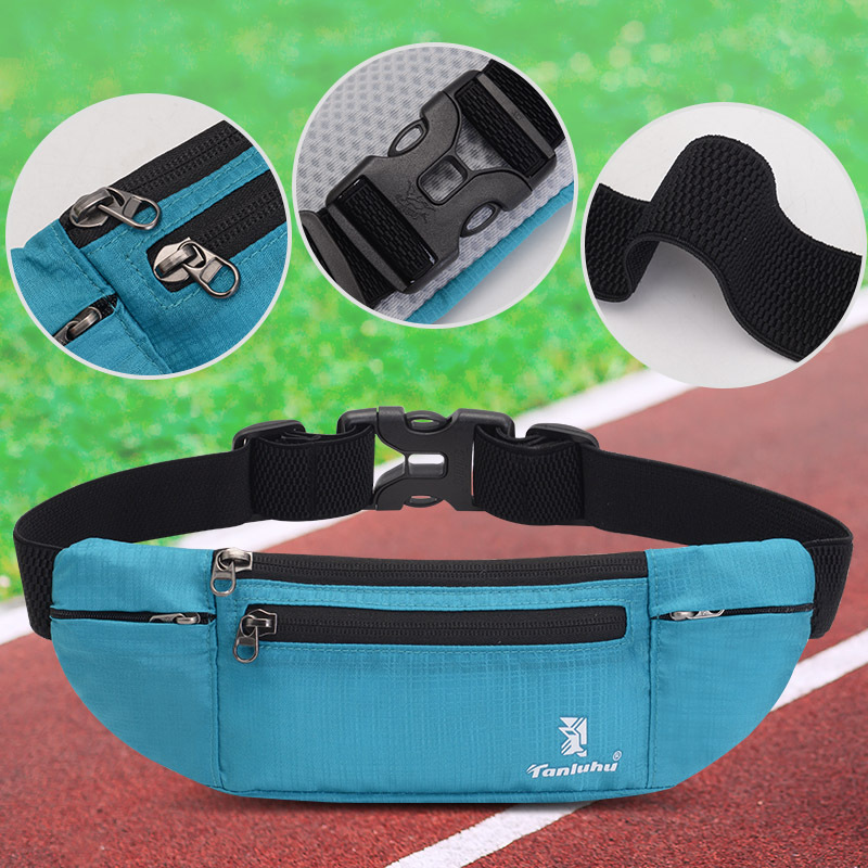 Running Sports Kettle Purse Men And Women Multi-functional Close Fit Waist Bag Marathon Sports Equipment Fitness Mobile Phone Ba