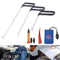 PDR narzędzia samochodowe narzędzia do naprawy Auto ciała Dent Paintless ZESTAW DO NAPRAWIANIA Dent Dent drzwi wgnieceń usuwania haki pręty pompy kliny narzędzie w Zestawy narzędzi ręcznych od Narzędzia na
