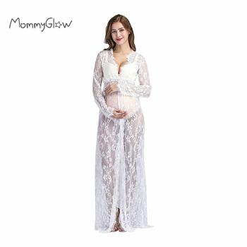 Lace Maternity Dresses For Photo Shoot Pregnancy Dress Photography Maternity Photography Props For Pregnant Women Clothes
