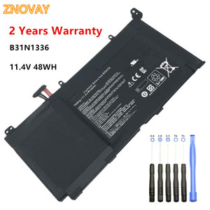 Laptop Battery Compatible with ASUS VivoBook A551L S551 S551L S551LN R533L K551LN K551L Series A42-S551 B31N1336 11.4V 48WH
