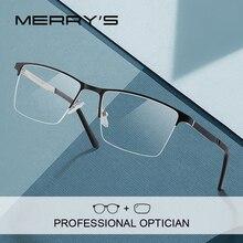 MERRYS DESIGN Men Prescription Glasses Fashion Myopia