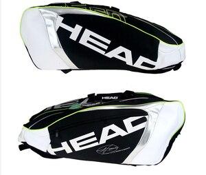 Image 4 - Head Tennis Bag Djokovic Tennis Racket Bag Badminton Padel Tennis Racquet Bag For 9 Racquet Tenis Raquete Package Tenis Bolsa