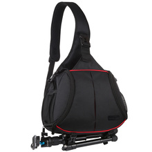 Bag Backpack Messenger-Bag Slr-Camera Triangle-Style PULUZ Digital Water-Resistant