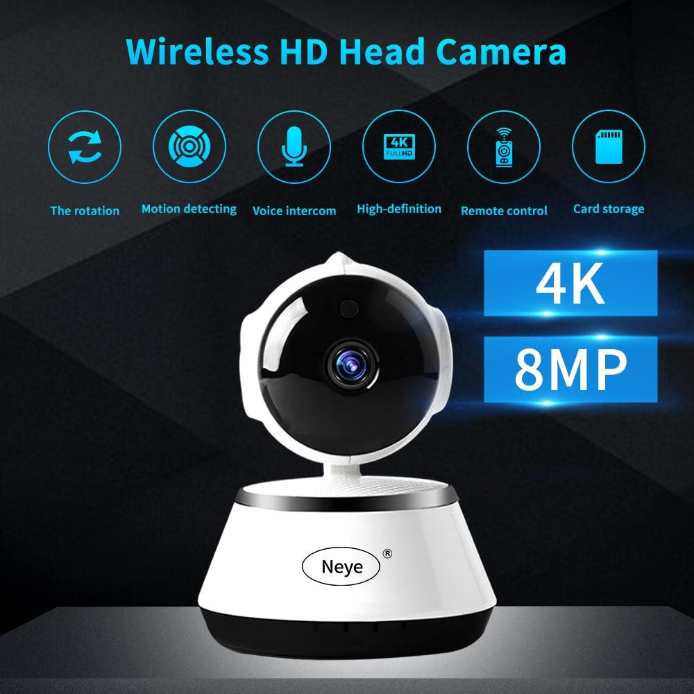 N eye IP Camera 8MP 4K Home Security Camera wifi camera with IR Night Vision Audio Monitor IP Camera