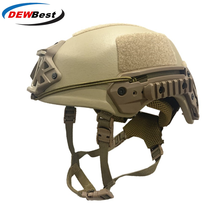 DEWBest Ballistic ACH High  2021 years Tactical Helmet Bulletproof FAST Aramid Safety NIJ Level IIIA Military Army A TACS