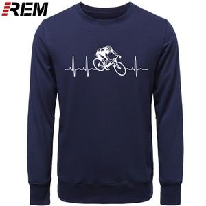 Image 3 - Hot sale Fashion Cyclings Heartbeat Standard Unisex  Hoodies, Sweatshirts