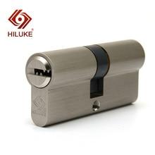 HILUKE 70 European standard lock cylinder security door copper alloy core hardware DC70.5C