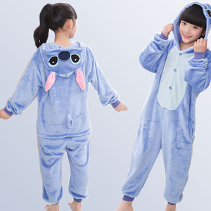 Image 5 - Jongens Meisjes Pyjama Animal Pyjamas Baby Herfst Winter Flanel Leuke Hooded Kids Nachtkleding Pijamas Cosplay Voor 4 6 8 10 12 Jaar