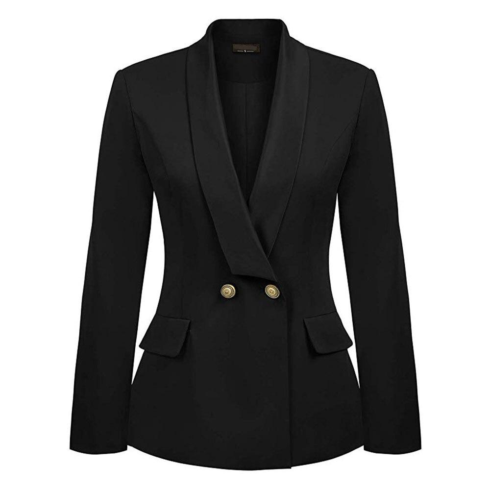 Black blazer jacket for women