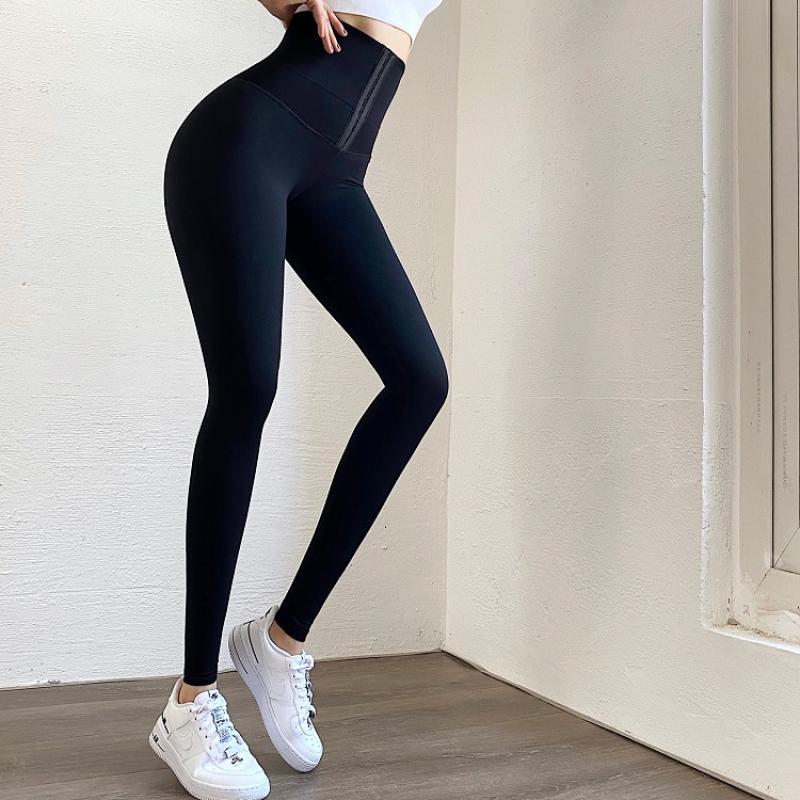 NORMOV High Waist Yoga Leggings Fitness Stretchy Sport Leggings Sports Gym Leggings Push Up Women Tights