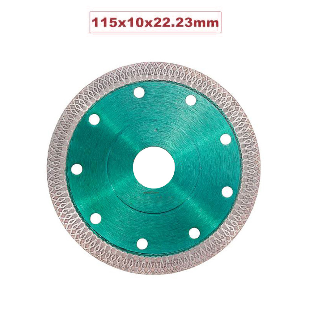 Hot Pressed Sintered Mesh Turbo Diamond Saw Cutter Disc Wheel For Porcelain Tile Polishing Machine And Angle Grinder