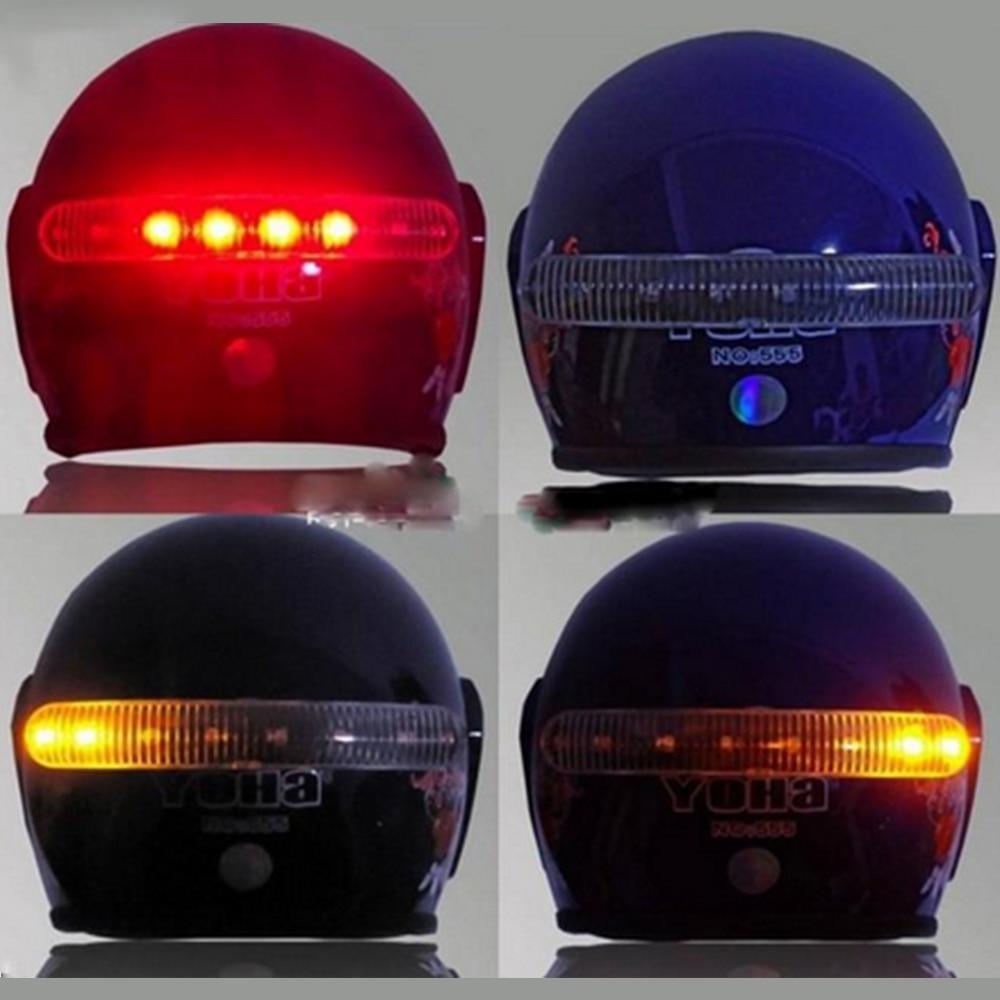 YOSOLO Warning Light 8 LED 2.4G Wireless Motorcycle Accessories Helmet Lamp Brake And Turn Signal Light