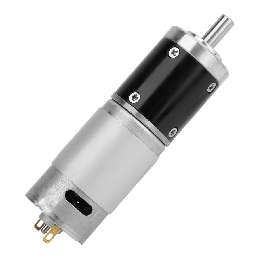 CM28-395 DC 24V Encoder Motor Electric Reduction Gear Motor with Ball Bearing