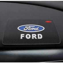 Sticky-Pad Mustang Fiesta Focus Mk2 Dashboard-Gel Anti-Slip-Mat Ranger Ford Car PVC Mk3