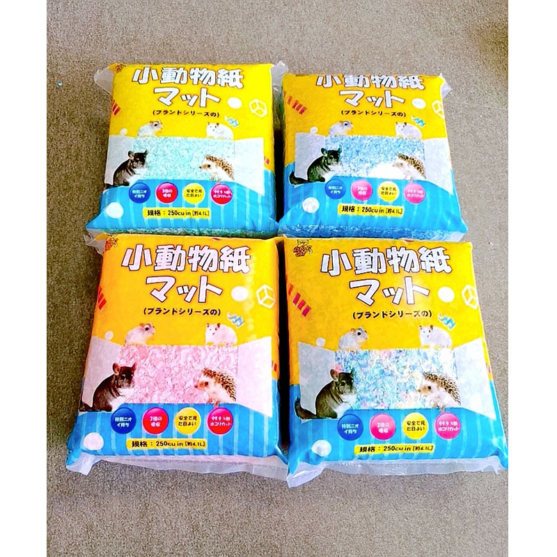 Hamster Paper Cotton Litter Golden Bear Small Animal Paper Cotton Absorbent Deodorant Sawdust Hamster Supplies