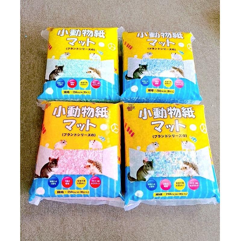 Hamster Paper Cotton Litter Golden Bear Small Animal Paper Cotton Absorbent Deodorant Sawdust Hamster Supplies