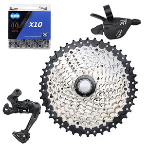 Mountain Bike 10 Speed Groupset 10s 11-42T K7 Cassette Shifter Rear Derailleur 10s  Chain MTB 1*10 Kits For Parts x5 x7 m610