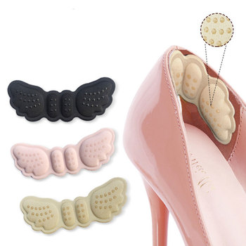 2pcs Butterfly Heel Insoles Heel Shoes Stickers For Heels Length Shoe Heel Pad Foot Care Anti Abrasion Keep Abreast Heel Pads фото