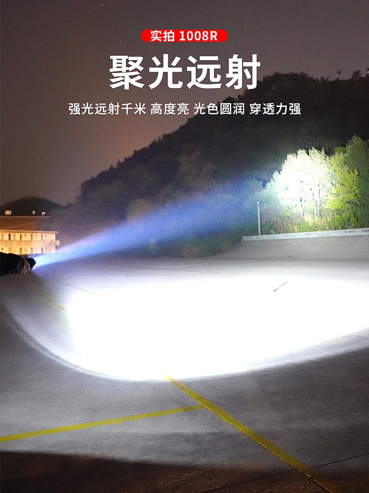 preto a prova dwaterproof agua lanterna portatil 01
