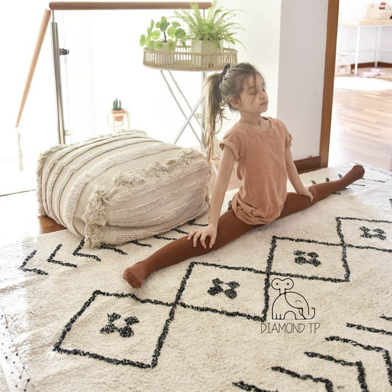 Geometric Pattern Super Soft Play Mat For Children 180x120cm Baby Play Rug Yoga Mat Carpets For Living Room Nordic Decor Carpet