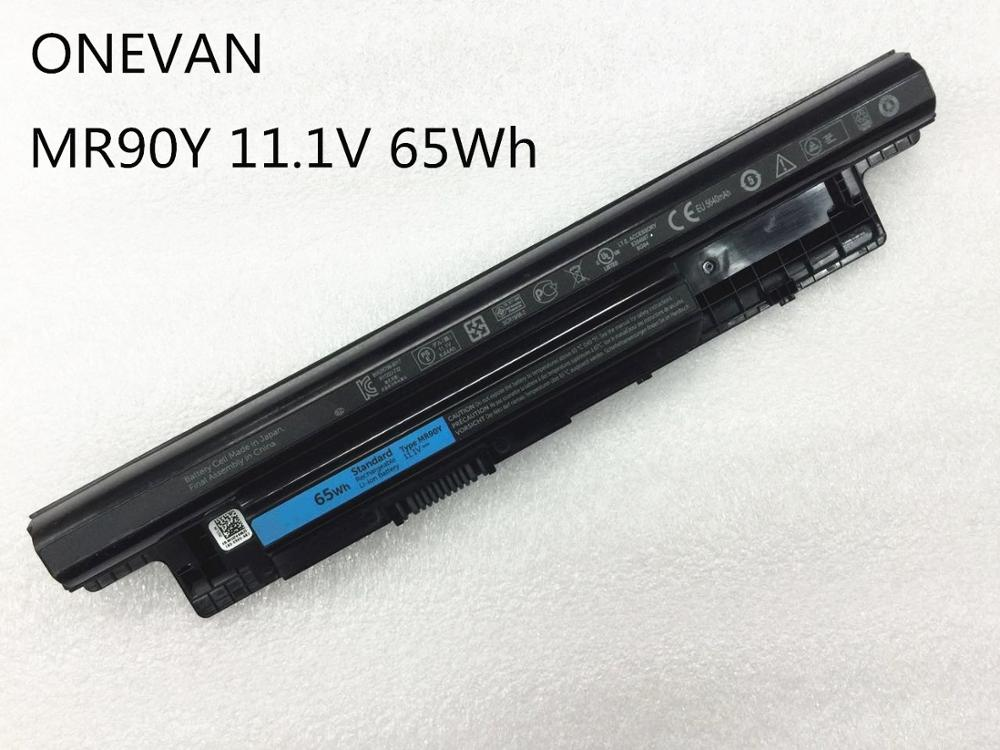 ONEVAN 65Wh MR90Y Battery For DELL Inspiron 3421 3721 5421 5521 5721 3521 3437 3537 5437 5537 3737 5737 XCMRD Korea Cell