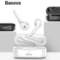 Baseus W07 TWS auricular Bluetooth Estéreo bajo Bluetooth 5,0 manos libres auricular caja de carga para iPhone Huawei Xiaomi fone de ouvido