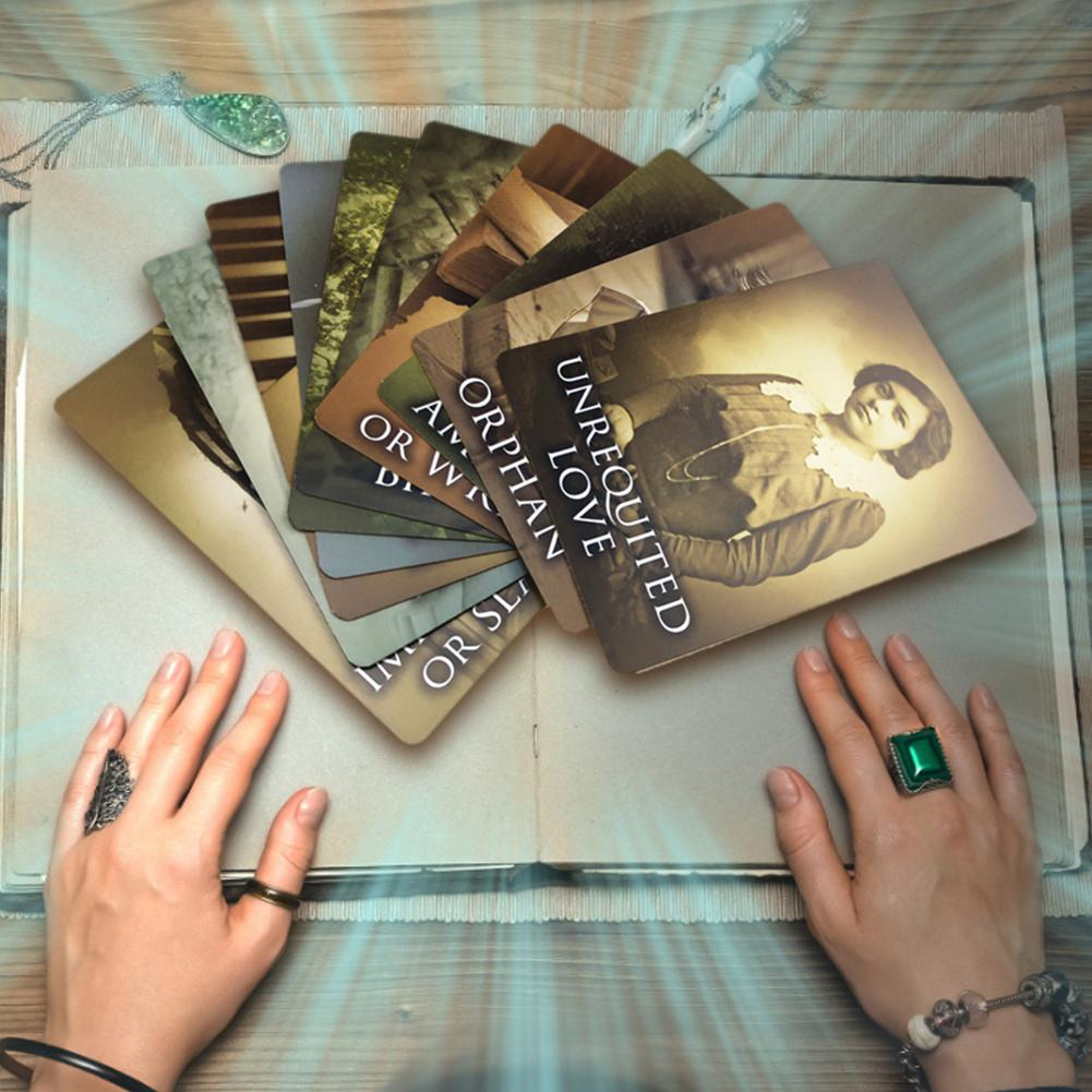 44 Sheets New Full English Past Life Oracle Cards Tarot Cards Board Games Cards High Quality