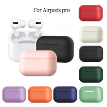 Silicone Cases for Airpods pro case Luxury Protective Earphone Cover for Apple airpods 3 Case Shockproof Sleeve For Air pods pro(China)
