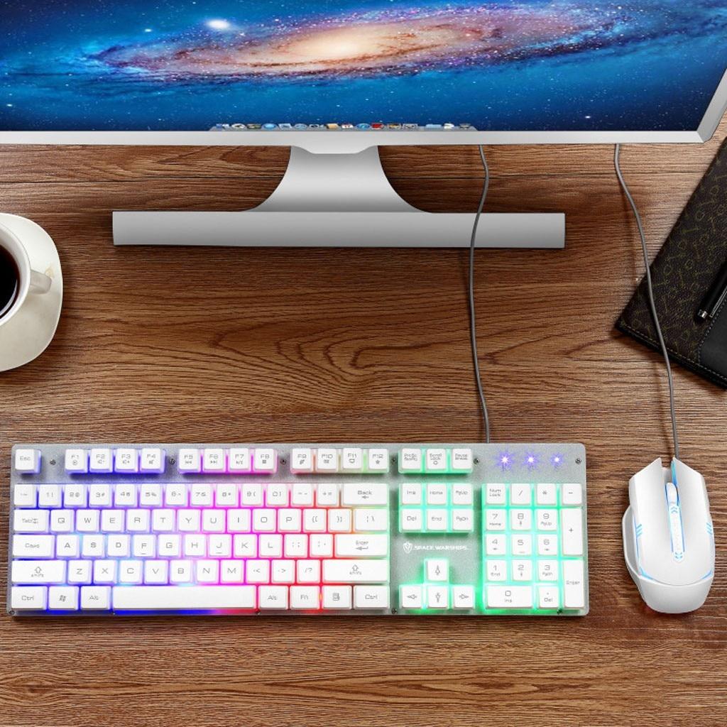 Jogo do mouse do teclado do jogo