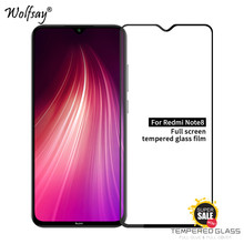 Full Glue Glass For Xiaomi Redmi Note 8 Tempered Screen Protector Film <